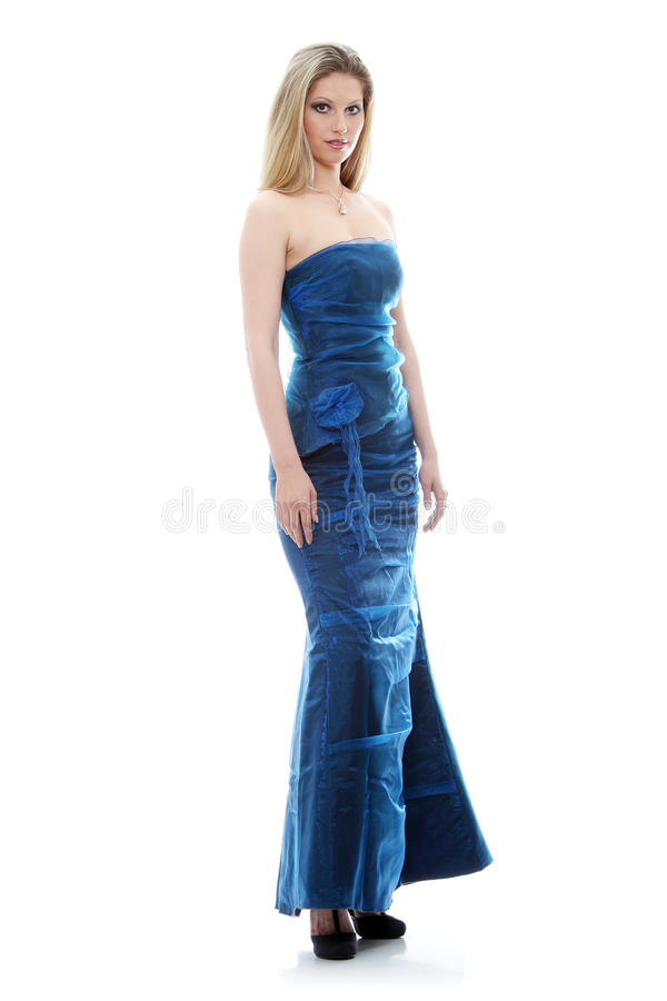 piękno suknia obraz stock