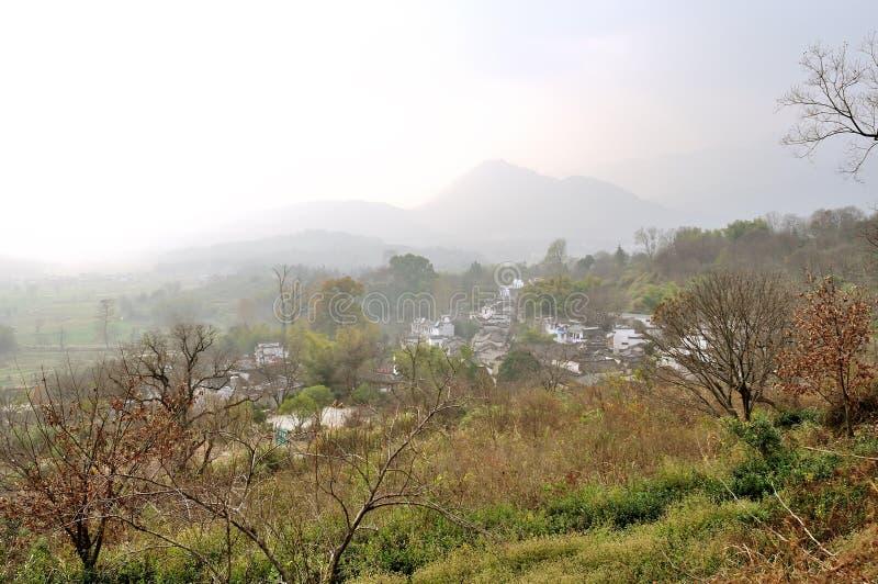 Piękno wieś w Chiny obraz stock