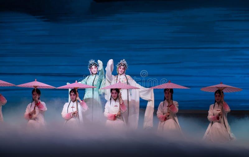 """Piękno Zachodniego jeziora Opera""""Madame Snake†Biały  obraz royalty free"""