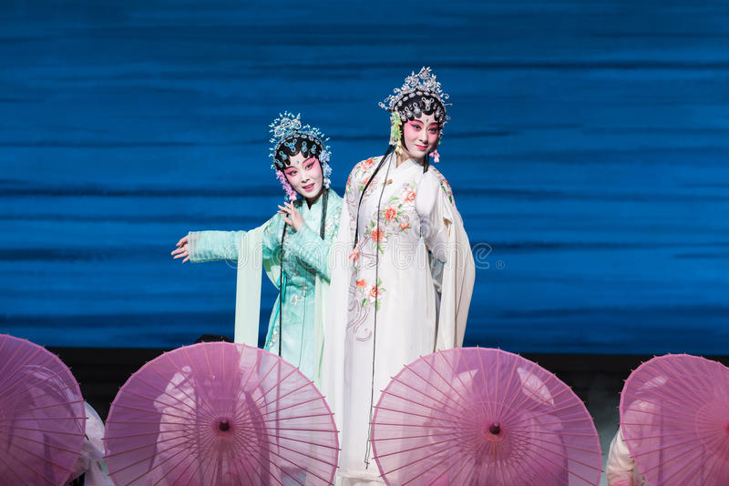 """Piękno Zachodniego jeziora Opera""""Madame Snake†Biały  fotografia stock"""