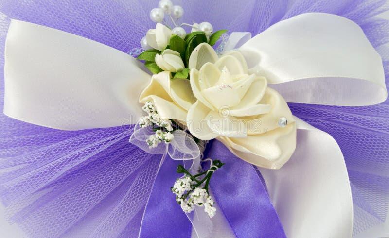 Piękny ślubny kolorowy bukiet dla zdjęcie stock