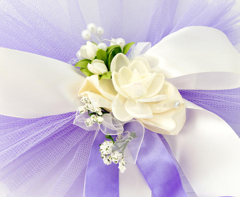 Piękny ślubny kolorowy bukiet dla panny młodej obraz royalty free