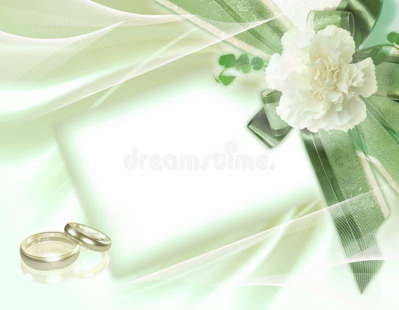 Piękny ślubny tło ilustracja wektor