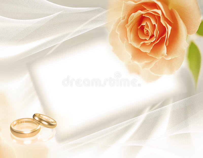 Piękny ślubny tło zdjęcia royalty free