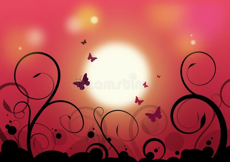 Piękny światło słoneczne ilustracja wektor