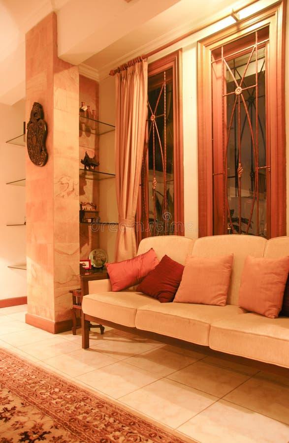 piękny żywy pokój zdjęcie stock