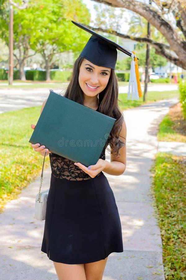 piękny absolwent obraz stock