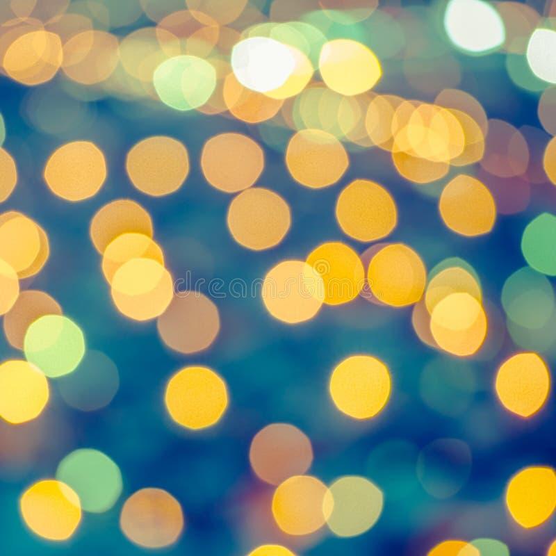 Download Piękny Abstrakcjonistyczny Błękitny Kółkowy Bokeh Tło, Miasto Zaświeca W Obraz Stock - Obraz złożonej z jaskrawy, rozmyty: 57650361