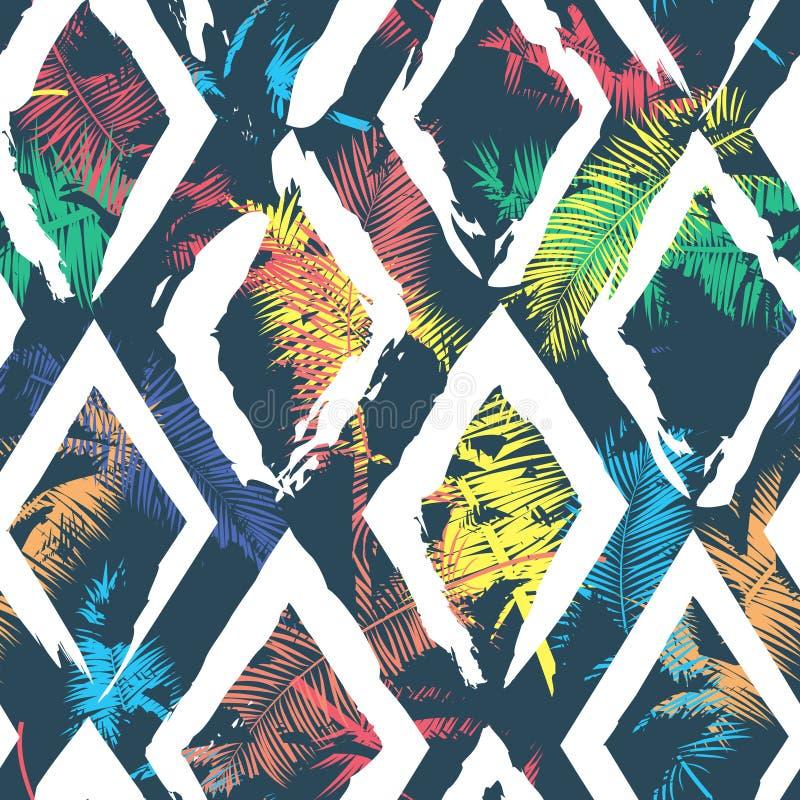 Piękny abstrakcjonistyczny bezszwowy wektoru wzoru tło Doskonalić dla tapet, stron internetowych tła, nawierzchniowe tekstury ilustracji