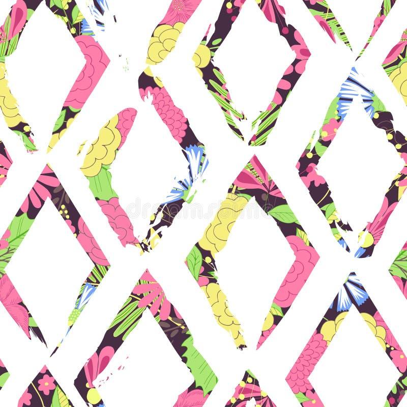 Piękny abstrakcjonistyczny bezszwowy wektoru wzoru tło Doskonalić dla tapet, stron internetowych tła, nawierzchniowe tekstury, tk royalty ilustracja
