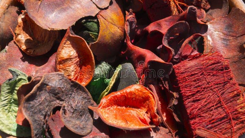 Piękny abstrakcjonistyczny dekoracyjny tło robić naturalny farbujący materiał fotografia royalty free