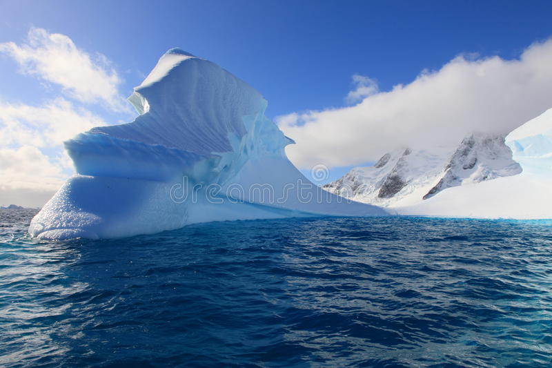 piękny Antarctica dzień