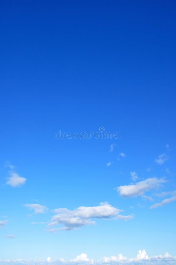 piękny błękit nieba zdjęcia royalty free