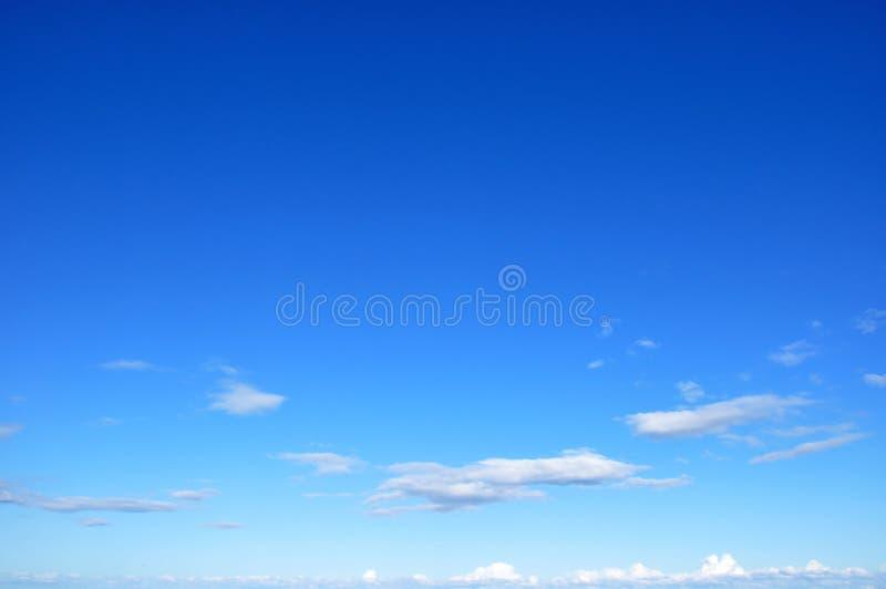 piękny błękit nieba fotografia royalty free