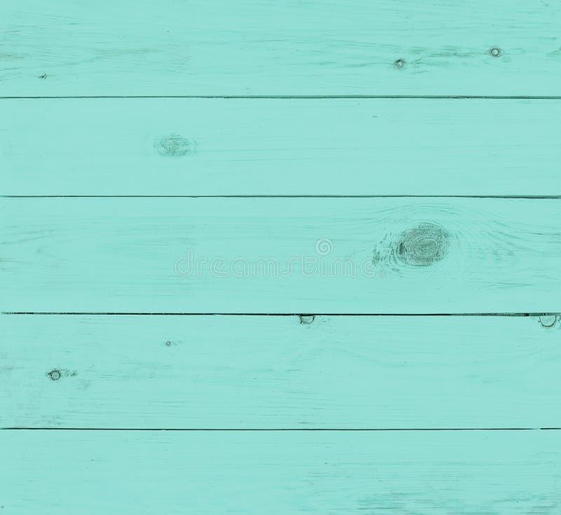 Piękny błękitna koloru drewna tekstura fotografia royalty free