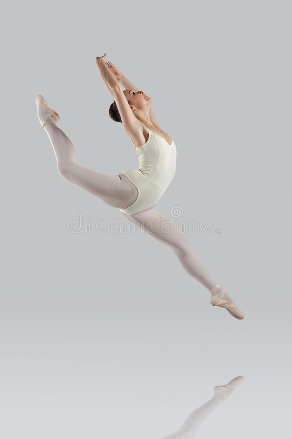 Piękny balet fotografia royalty free