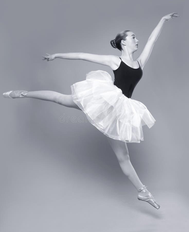 Piękny Baletniczego tancerza portret zdjęcie royalty free