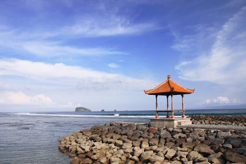 piękny Bali candidasa Indonesia obrazy royalty free