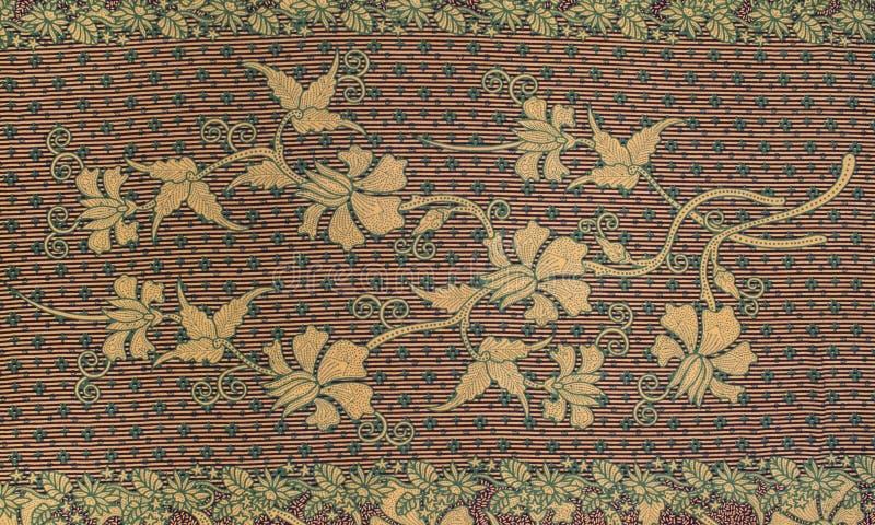 Piękny batika wzór obraz royalty free