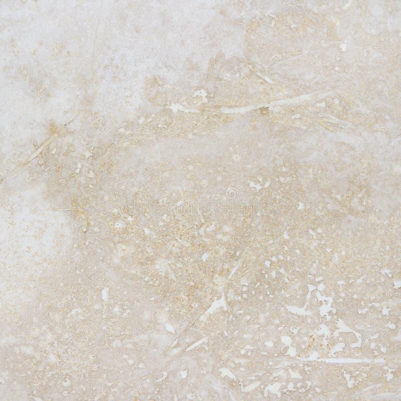 Piękny beżowy granitowy tło z naturalnym wzorem zdjęcia royalty free