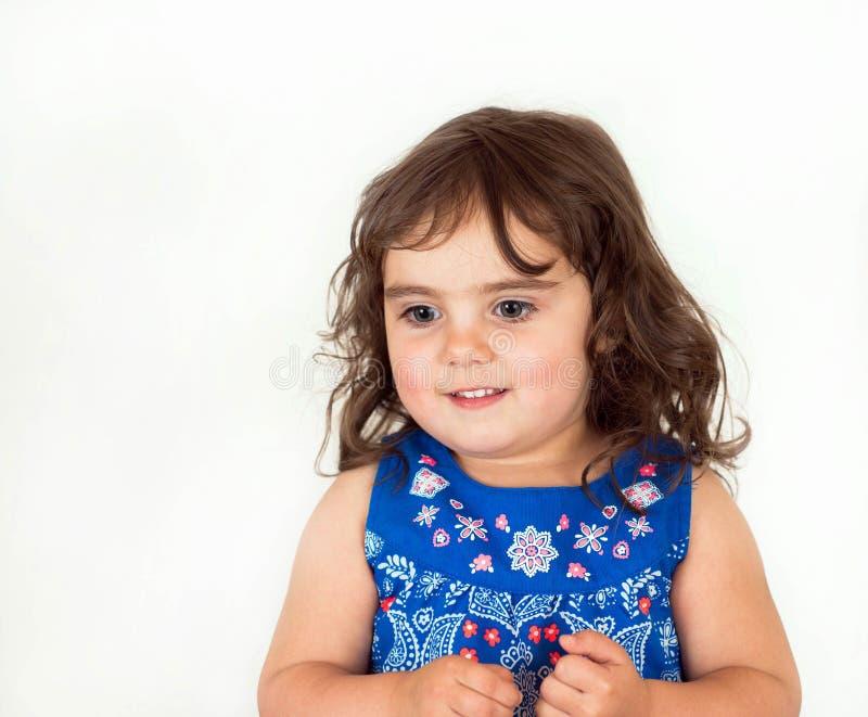 Download Piękny Berbeć W Kwitnącej Sukni Obraz Stock - Obraz złożonej z uroczy, niewinność: 53791655
