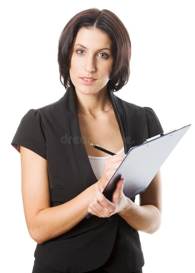 piękny bizneswoman zdjęcia stock