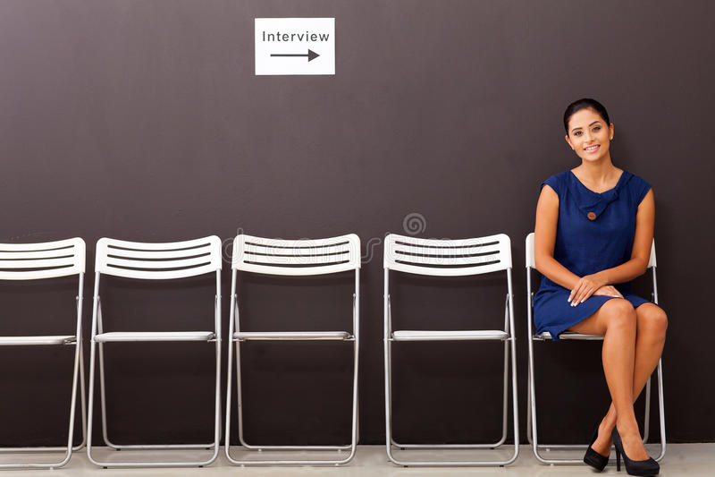 Bizneswomanu akcydensowy wywiad obraz royalty free