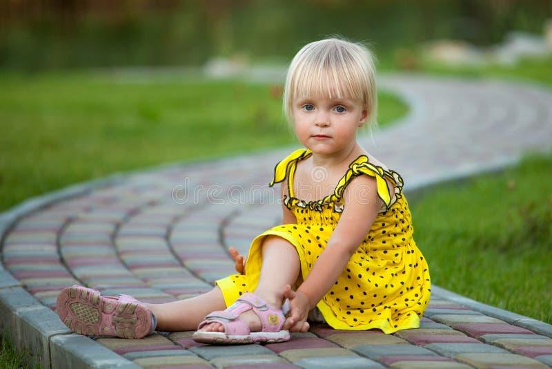 piękny blondynki piękna dziewczyna zdjęcia stock