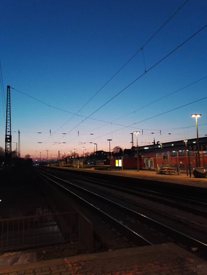 Piękny Bochum dworzec obrazy royalty free