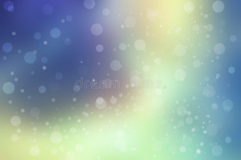Piękny Bokeh tło (Zamazana tapeta) obrazy stock