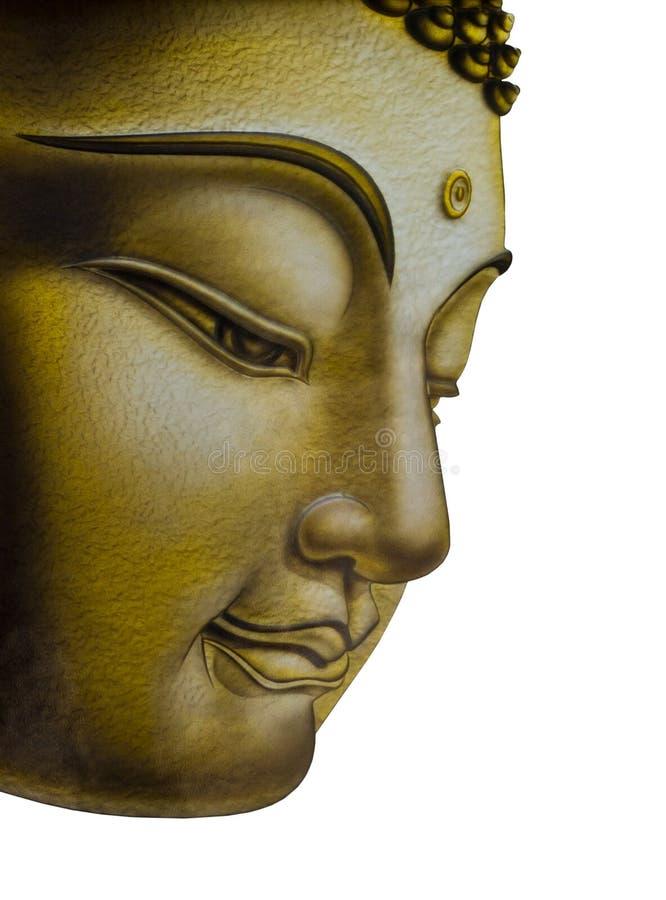 piękny Buddha twarzy wizerunek zdjęcie stock