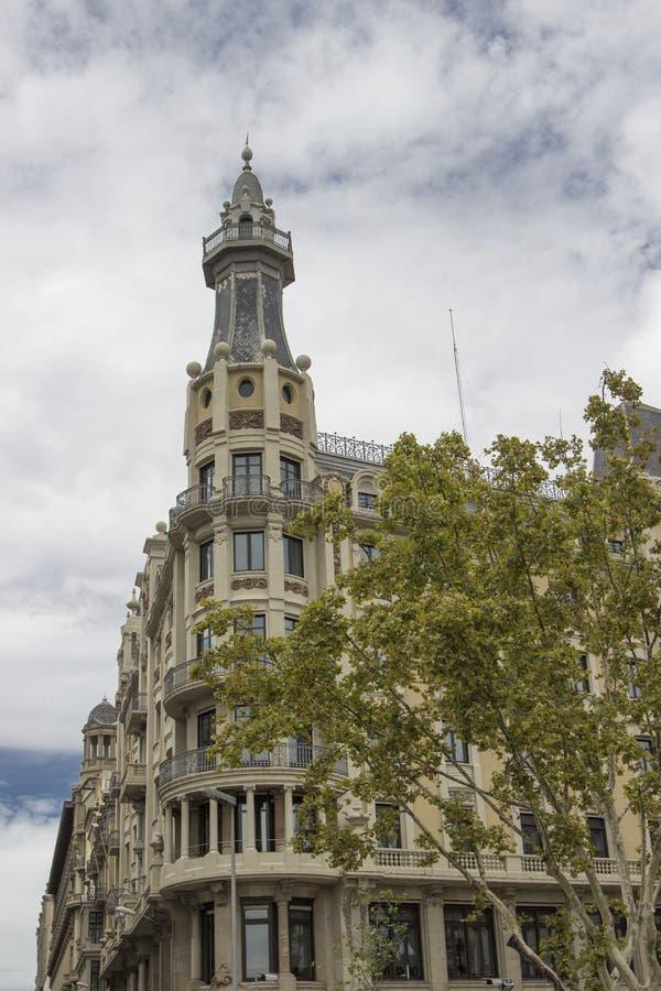 Piękny budynek w Barcelona zdjęcia stock