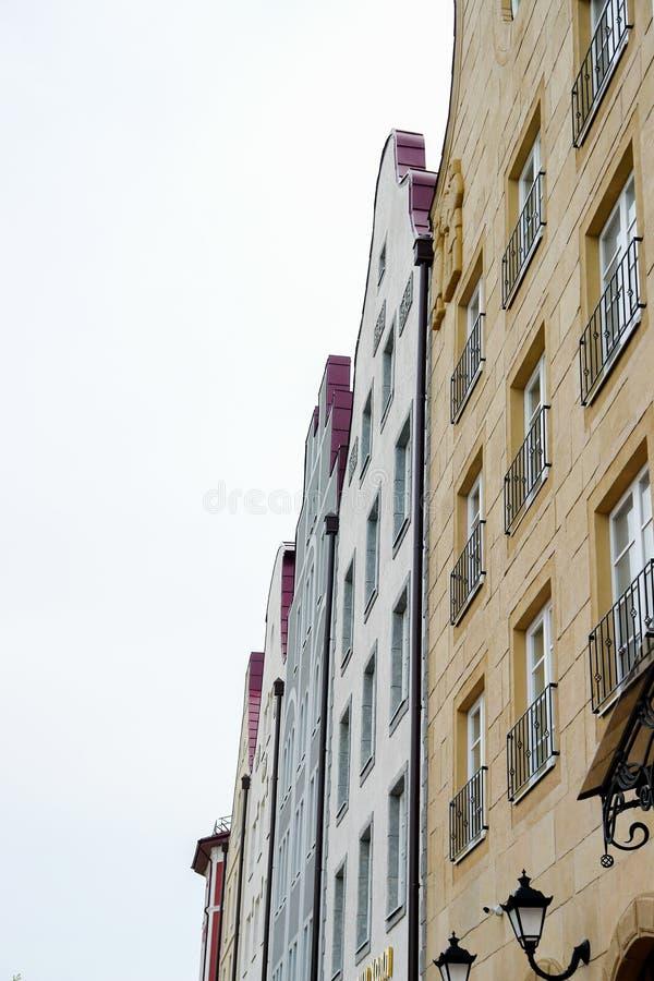 piękny budynek w Ryazan, Rosja fotografia royalty free