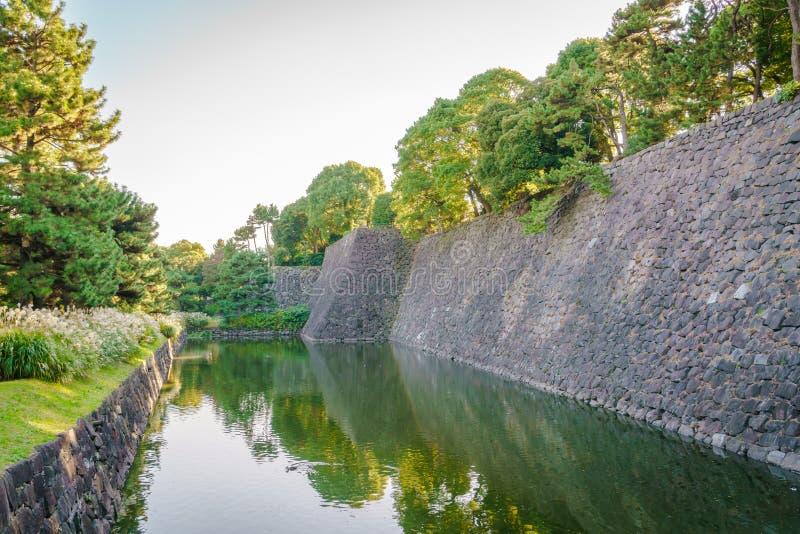 Piękny Cesarski pałac w Tokio, Japan zdjęcia stock