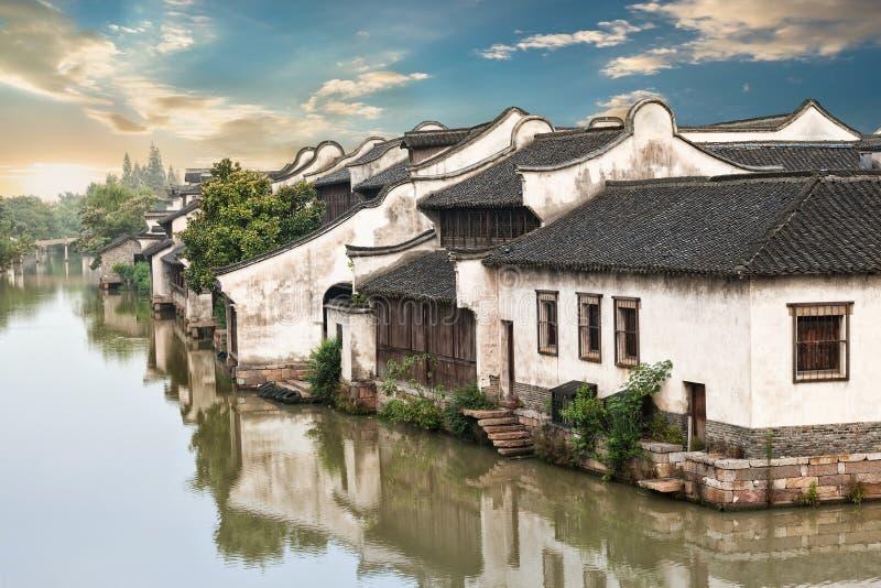 Piękny chińczyk wody miasteczko fotografia royalty free