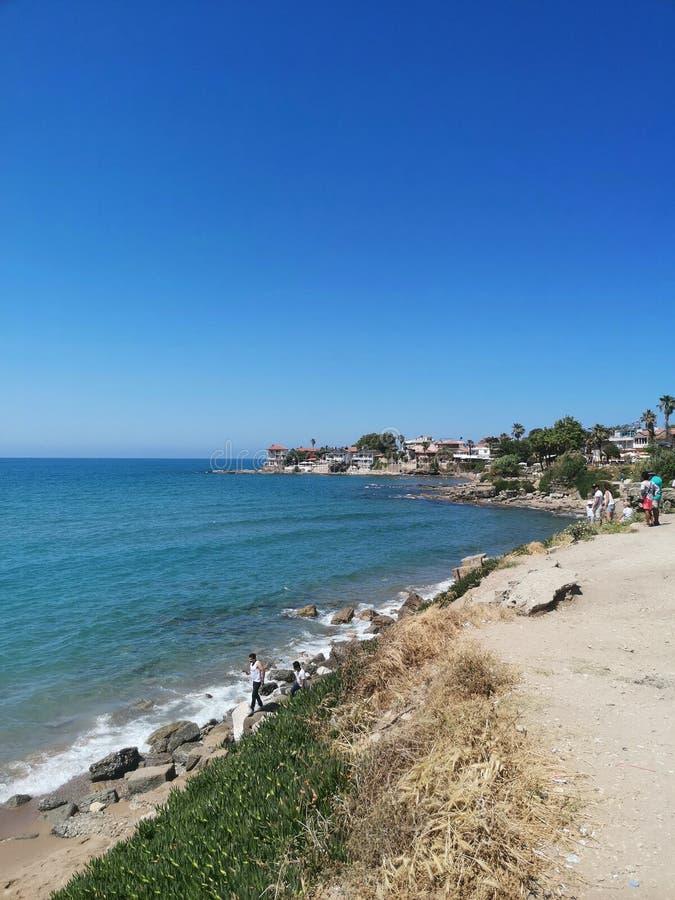 Piękny Chujący klejnot plaża fotografia royalty free