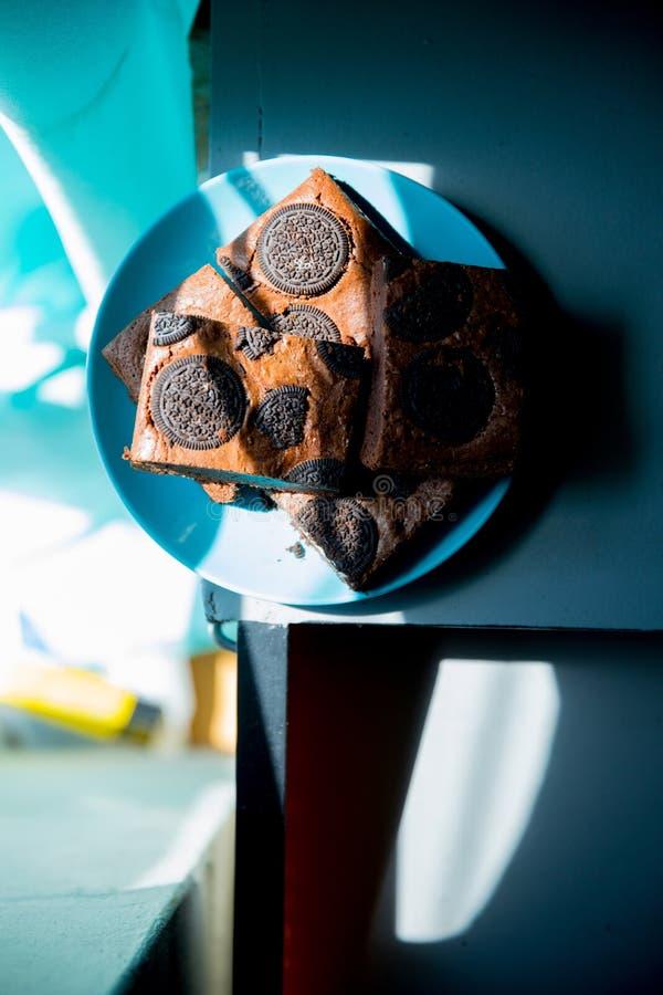 piękny ciasto torty i macaroons torty i inni słodcy desery obraz royalty free