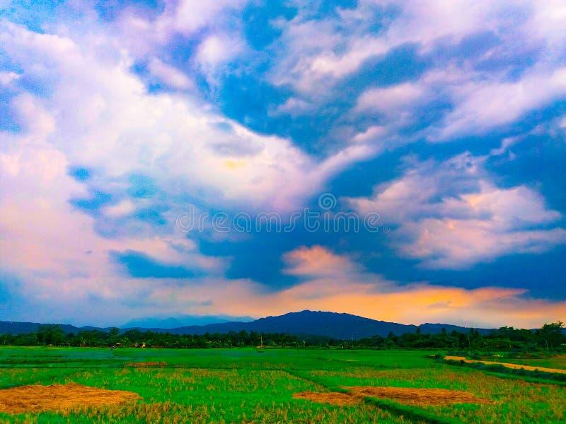 Piękny countyside zdjęcia royalty free