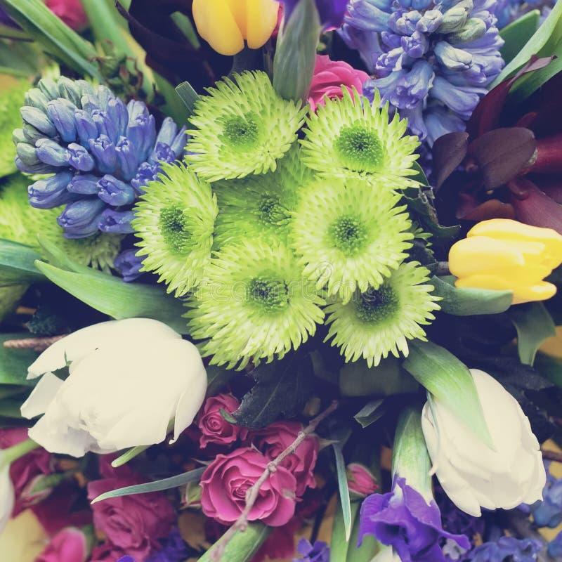 Piękny delikatny bukiet kwiaty obrazy royalty free