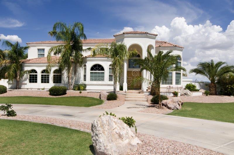 piękny dom luksus obraz stock