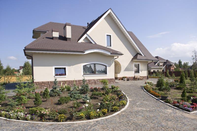 piękny dom na wsi obrazy royalty free