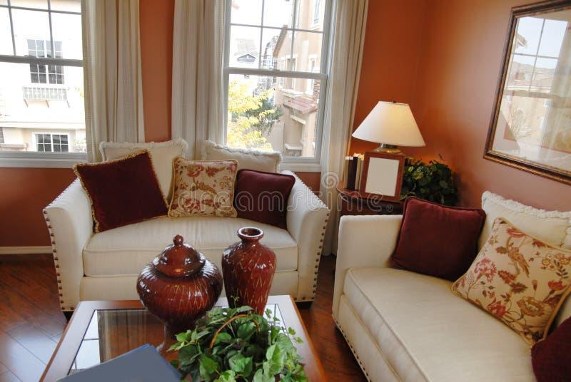 piękny domowy żywy pokój zdjęcie stock