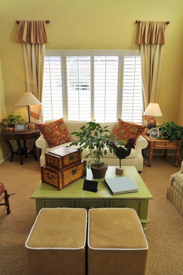 piękny domowy wnętrze fotografia royalty free
