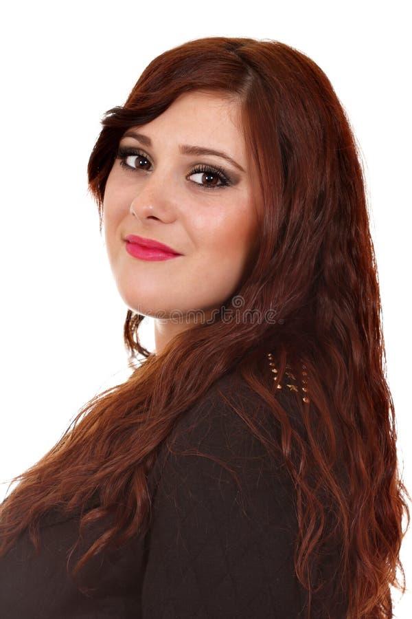 Piękny dziewczyna portret zdjęcia royalty free