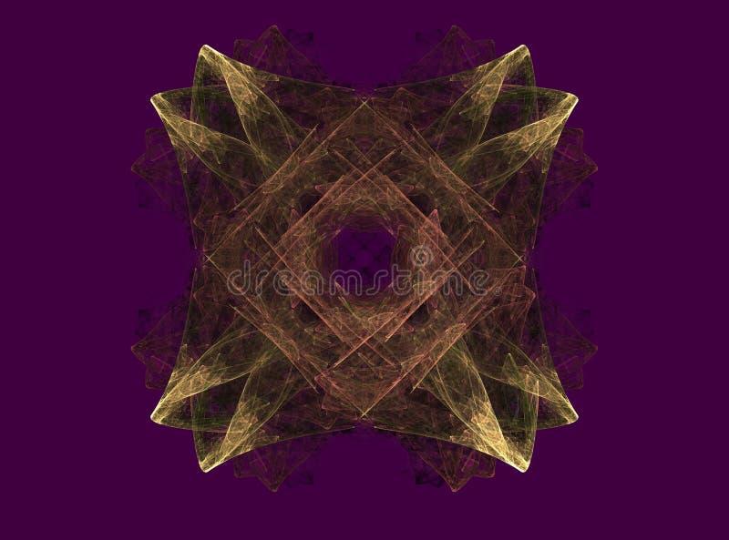 piękny fractal abstrakcyjne obrazy stock