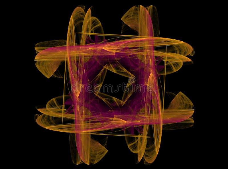 piękny fractal abstrakcyjne zdjęcie stock