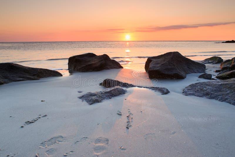 Piękny halny jezioro obraz royalty free