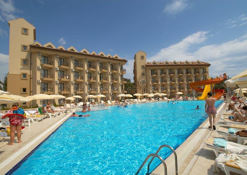 piękny hotel zdjęcie stock