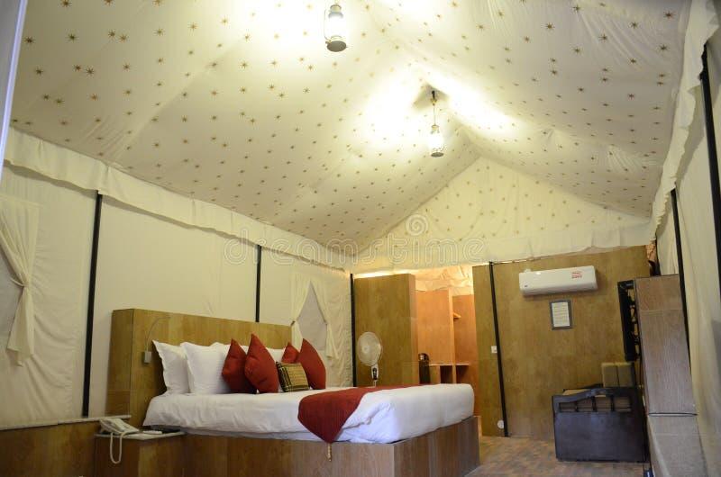 Piękny hotelu namiotu dom obraz royalty free