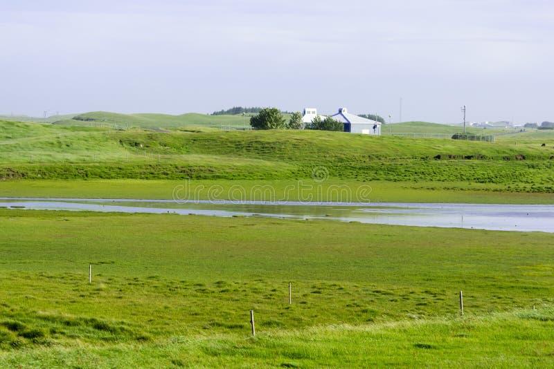 Piękny Iceland, dobra lato pogoda zdjęcie royalty free
